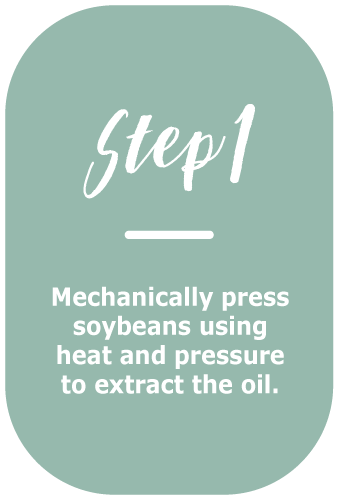 soybean oil making - step 1