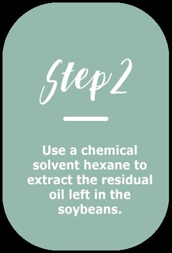 soybean oil making - step 2