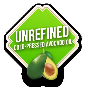 unrefined cold-pressed avocado oil